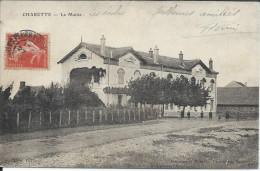 CP - 71 - Charette  La Mairie 1908. - France