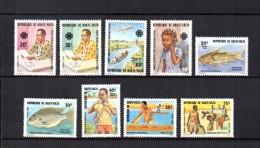 Alto Volta   1983   Y&T Nº   597/600 - 601/605    * - Upper Volta (1958-1984)