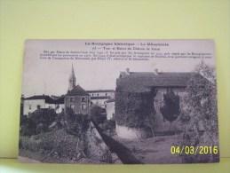VERZE (SAONE ET LOIRE) TOUR ET RUINES DU CHATEAU - Frankreich