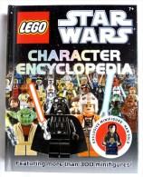 LIVRE LEGO STAR WARS CHARACTER ENCYCLOPEDIA En Anglais, Avec 1 Mini Figurine Exclusive Han Solo - Cinema/Televisione