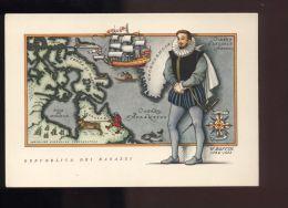 B1177 REPUBBLICA DEI RAGAZZI: I NAVIGATORI, SERIE SECONDA - W. BAFFIN - Illustratori & Fotografie