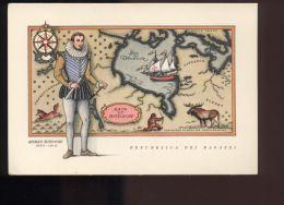 B1178 REPUBBLICA DEI RAGAZZI: I NAVIGATORI, SERIE SECONDA - HENRI HUDSON - Illustratori & Fotografie