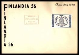 Finland 1956 Philatelic Cover - FDC