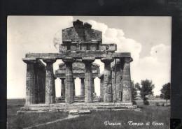 N2306 PAESTUM IN PROV. DI SALERNO - TEMPIO DI CERERE - ARCHEOLOGIA, STORIA ROMANA - ARCHEOLOGY, ARCHEOLOGIE - Altre Città