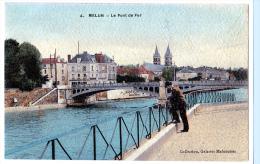 Melun (Seine-et-Marne) Pont De Fer. - Melun