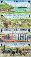 Aurigny Alderney 1997 Yvert 108-15 *** MNH  Cote 10,00 Euro Chemin De Fer Treinen - Alderney