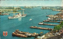 Holland, Olanda - Amsterdam - Havengezicht - 1966 - Harbour, Porto - Boat, Ship, Nave - Amsterdam