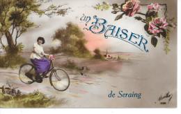 Seraing - Un Baiser De Seraing - Ed: Marlha 3500 - Circulé: 1922 - Seraing