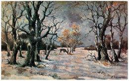 Paysage  Serie N° 273 - Malerei & Gemälde
