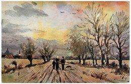 Paysage  Serie N° 273 - Peintures & Tableaux