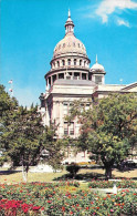 East Entrance And Great Dome Of The Texas State Capitol Building - Austin, Texas - Austin