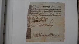 Grossbritannien - Schottland / United Kingdom - Scotland - 12 Pounds 1723 COPY Lemberg-Zp - [ 3] Scotland