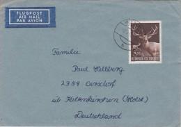 Austria; Cover To Germany 1962 - 1918-1945 1ra República