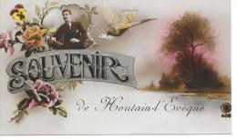 Houtain-L'Evêque - Souvenir D'Houtain L'Evêque - Ed: R.B. 605 Circulé:1920 - Landen
