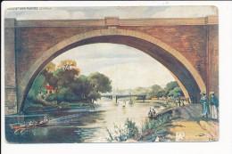 Carte De Nogent Sur Marne Le Viaduc ( Au Dos Phospho Bébé )( Recto Verso ) Mauvais état - Nogent Sur Marne