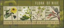 Niue 2015 Bloc Feuillet Flora Neuf ** - Niue