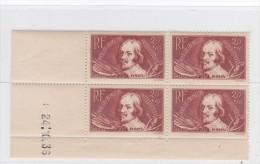 FRANCE COIN DATE  NEUF XX   N°330 -  24/10/1936  - REF STEM - Ecken (Datum)