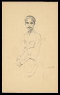 TIMOR - EXPOSIÇÕES - Maria Guilhermina (Desenho De Eduardo Malta ) Carte Postale - Timor Orientale