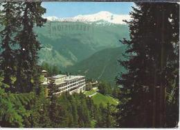 CH.- Mountain Hotel Schatzalp - Davos Gegen Das Pischahorn.- 2 Scans - Hotel's & Restaurants