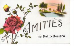Petit-Rosière - Amitiés De Petit-Rosière - Ed: Guy 127 - Circulé. - Ramillies