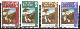 Cayman  Islands          4    Stamps             **                   MNH   /    Postfris - Kaaiman Eilanden
