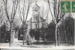 CHATELAILLON PLAGE - 17 - Une Vue De L'Eglise - ENCH1202 - - Châtelaillon-Plage