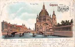 Berlin, Der Neue Dom, Lithokarte - Unclassified