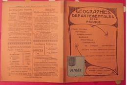 Vendée. La Roche Sur Yon. Géographies Départementales De La France. Cartes. Vers 1890 - Picardie - Nord-Pas-de-Calais