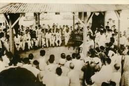 Philippines Révolte Des Lépreux M Varella Sante Publique Ancienne Photo 1936 - Photographs