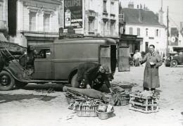 France Tours Camionnette Du Château De Cande Duc De Windsor Ancienne Photo 1937 - Cars