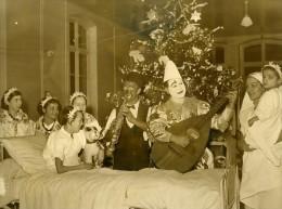 France Paris Hopital Trousseau Clowns Zavatta Et Rolph Enfants Malades Ancienne Photo 1938
