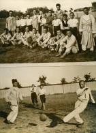 Bucarest Match De Foot Etudiants Contre Alienés Ancienne Photo 1939 - Photographs