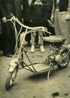 France Lyon Scooter FL22 Ingénieur Francois Lacombe Ancienne Photo 1949 - Photographs