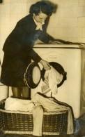 Royaume Uni Blanchisserie Automatique Bendix Lavante-séchante Ancienne Photo 1960 - Photographs
