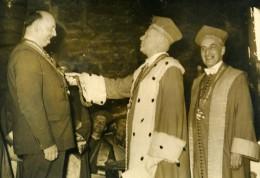 France Clos Vougeot Pierre-Étienne Flandin Chevalier Du Tastevin Ancienne Photo 1935 - Photographs