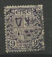 1922 USED Ireland, Gestempeld - 1922-37 Stato Libero D'Irlanda