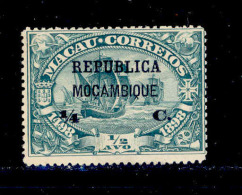 Mozambique - 1913 Vasco Gama On Macau 1/4 C - Af. 137 - MH - Mozambique