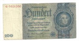 Germany 100 Reichsmark 1945 (No Letter) - [ 4] 1933-1945: Derde Rijk