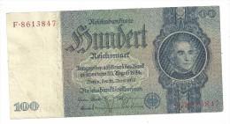 Germany 100 Reichsmark 1935 - [ 4] 1933-1945 : Third Reich