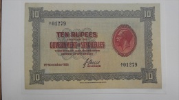 Seychellen / Seychelles - 10 Rupien 1928 COPY Lemberg-Zp - Switzerland