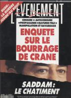 L'evenement Du Jeudi   N°329   21 Au 27 Fevrier 1991 : Enquete Ssur Le Bourrage De Crane - Informations Générales