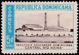 DOMINICAN REPUBLIC - Scott #455 Sugar Industry / Used Stamp - Repubblica Domenicana