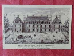 Dep 10 , Cpa Ancien Chateau De VILLENAUXE La GRANDE , Les 1er Et 2 Septembre 1725 , La Reine De France (103) - Otros Municipios