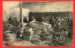 Fourchambault - établissement Rémy - Ateliers Des Balanciers N°3 - Ouvriers - Tréfilerie Acier Mécanique - Frankrijk