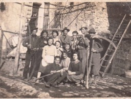 Sardigliano Alessandria Contadini Fotografia Formato Cm. 11 X 8 - Mestieri