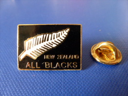 Pin´s Rugby - All Blacks - New Zealand - Nouvelle Zélande (PJ28) - Rugby