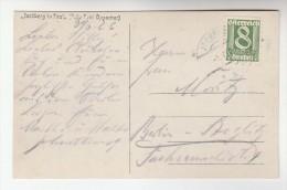 1926 Jochberg AUSTRIA Stamps COVER (photo Postcard Jochberg In Tirol) To Germany - 1918-1945 1st Republic