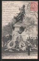 CPA Nimes, Monument Aux Enfants Du Gard Morts Pour La Patrie - France