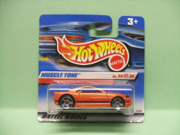 MUSCLE TONE - 2000 First Editions N°84 - HOTWHEELS Hot Wheels Mattel 1/64 EU Blister - HotWheels