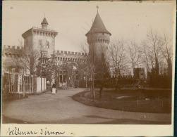 Gironde, Villenave D'Ornon, Ca. 1900  Vintage Citrate Print.   Tirage Citrate   8x11   Circa 1900 - Photos
